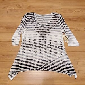 Super cute One World Top.  Size S.  NWT